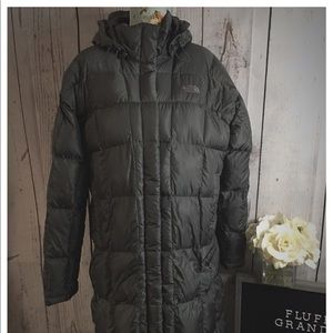 The North Face Charcoal Down puffer Jacket XL